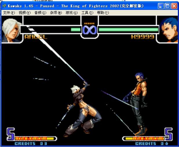 拳皇2002风云再起真实出招表图片-拳皇2002出招表图片
