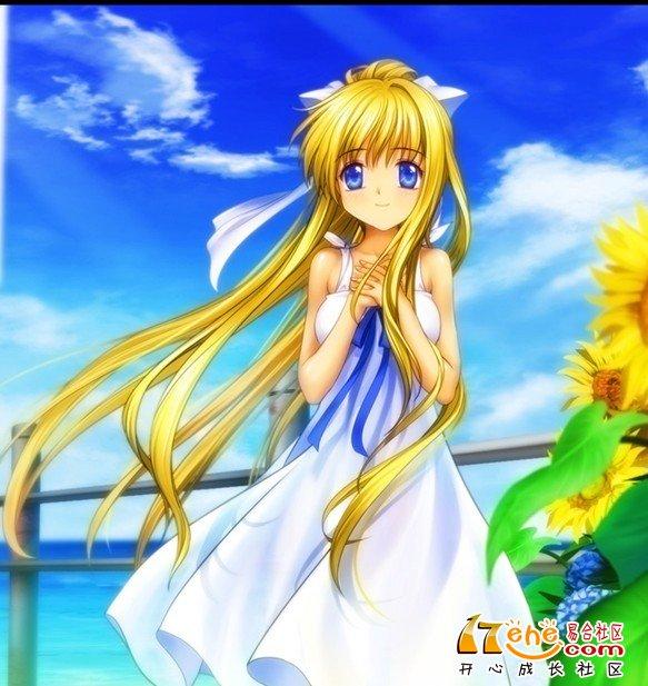 求问黄色长卷发的动漫少女的名字,标注什么动画,叫什么名字,越多越好
