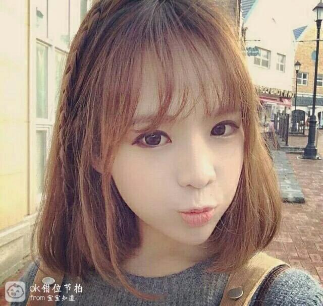 去理发店弄空气刘海一般要多少钱?图片