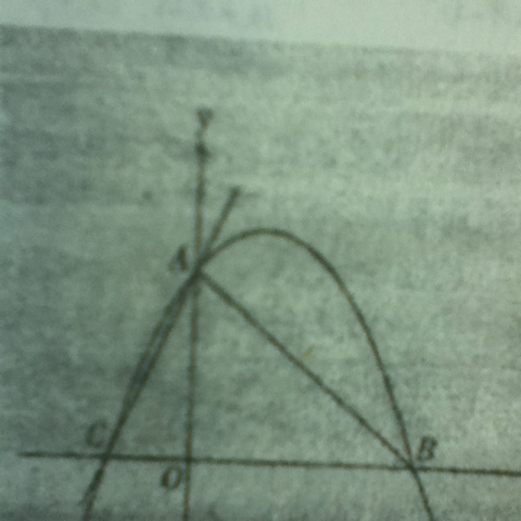 点B点在x轴上三角形ABC是等腰直角三角形