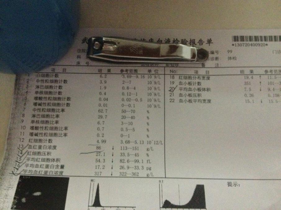 怎么看验血报告