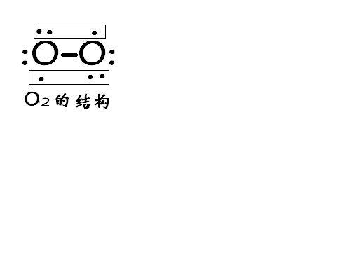 o2电子式中氧原子之间的键叫什么,什么意思?图片