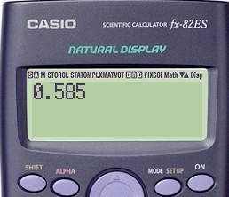计算器如何算弧度