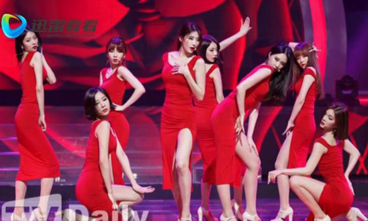 谁知道这个韩国女子团队是哪个视频的?