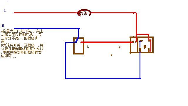 单控灯可以两头开关吧 一个开关控制两个灯 一灯三控开关接线图 一灯图片