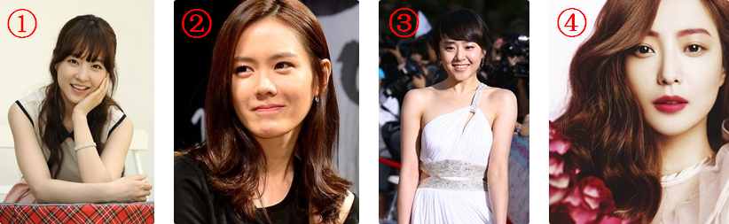 有关韩国女明星的名字