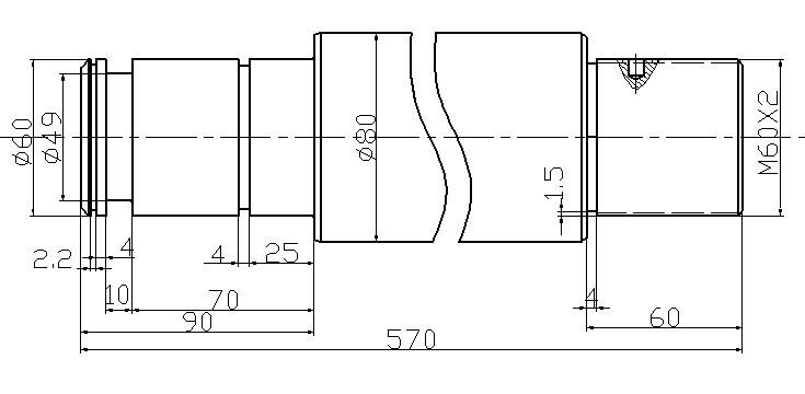 求标准液压缸活塞杆参数与型号图片