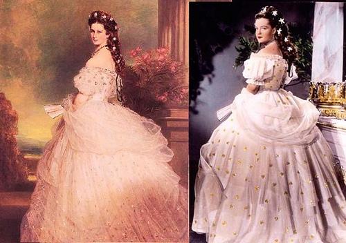 茜茜公主连衣裙