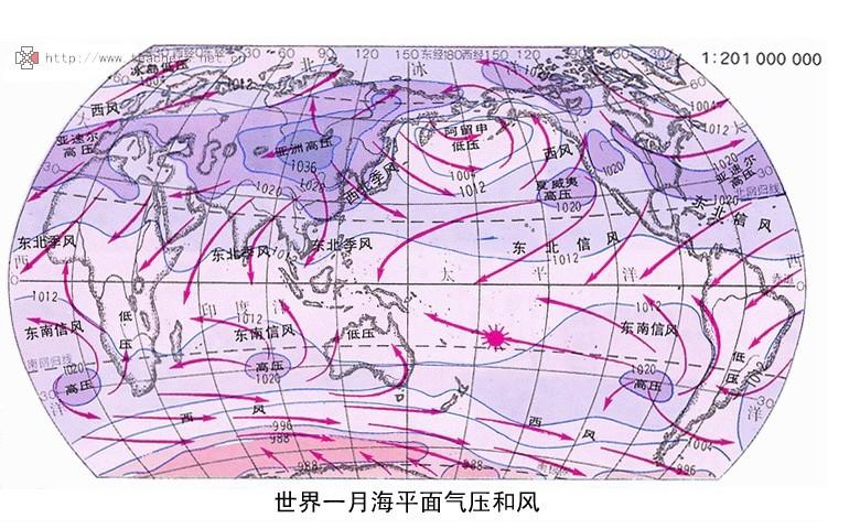 建议搜个世界冬季气压图看哈. 追问 看了.能不能画个风向图?图片