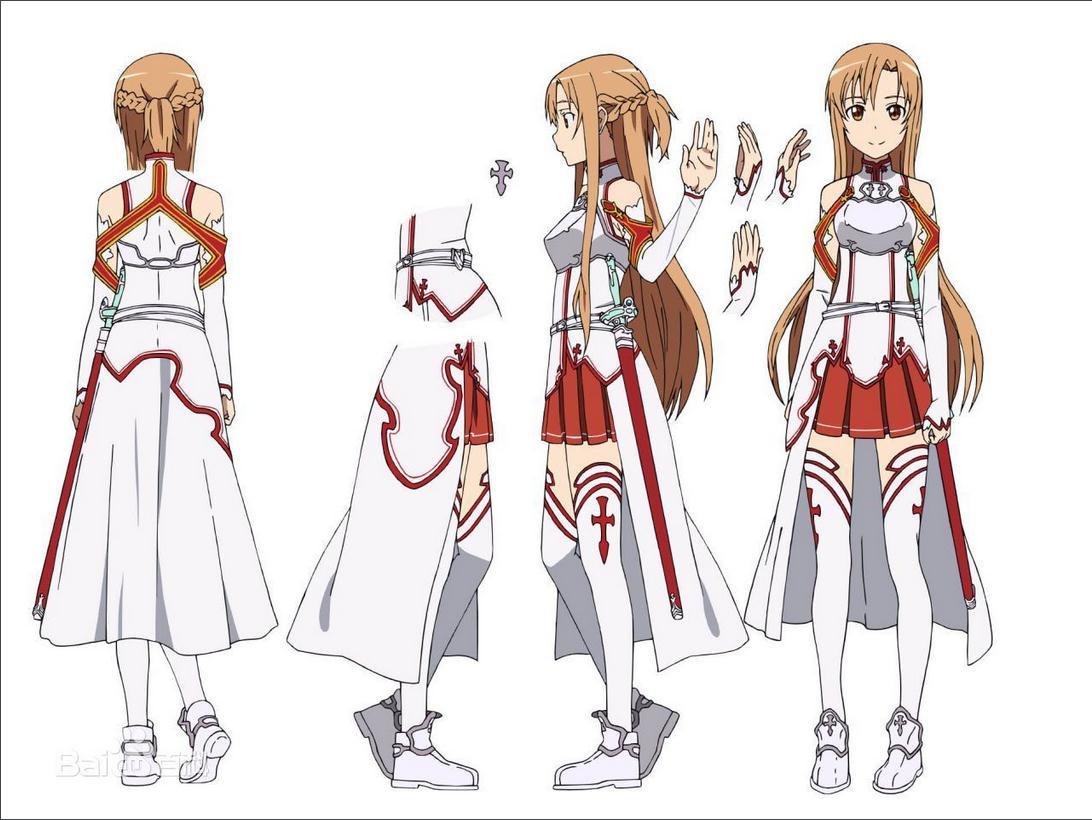 刀剑神域是动漫 女主 亚丝娜