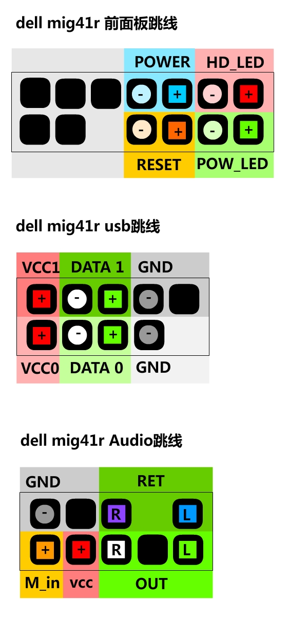 MIG41R主板跳线接法 或主板说明书和13针跳线接法图片