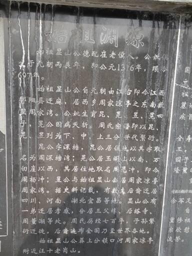 麻城周氏族谱图片