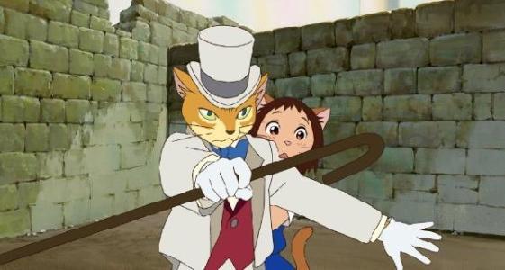 宫崎骏《猫的报恩》里面讲了一个什么故事?- 百度派