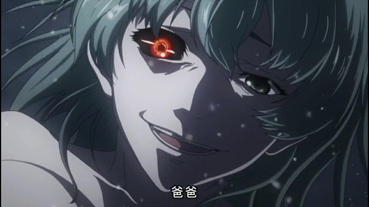 东京食尸鬼动漫里从哪里看出了独眼之枭是高槻泉?注意