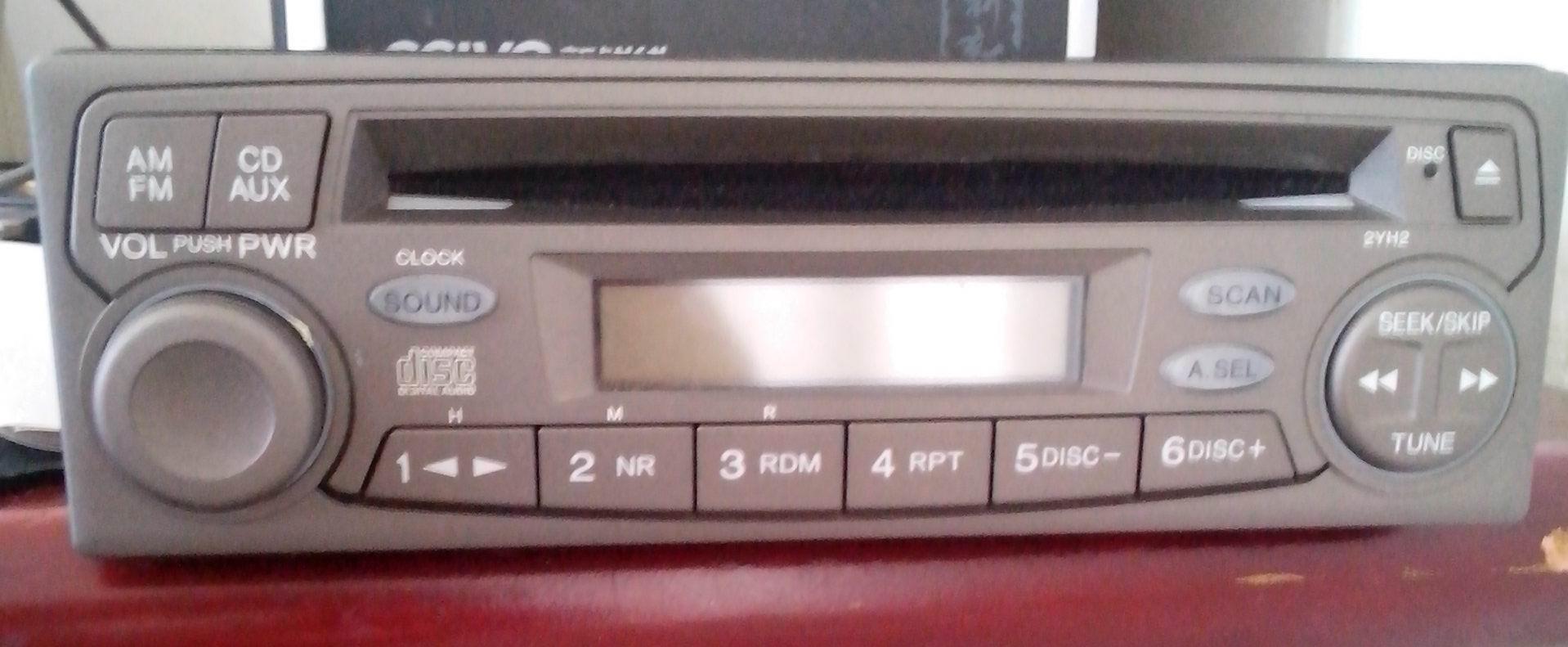 求本田车载cd接线图高清图片