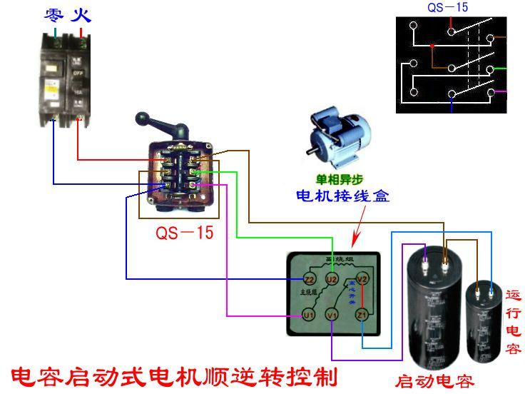 双速电机接线图 220v双速电机接线图