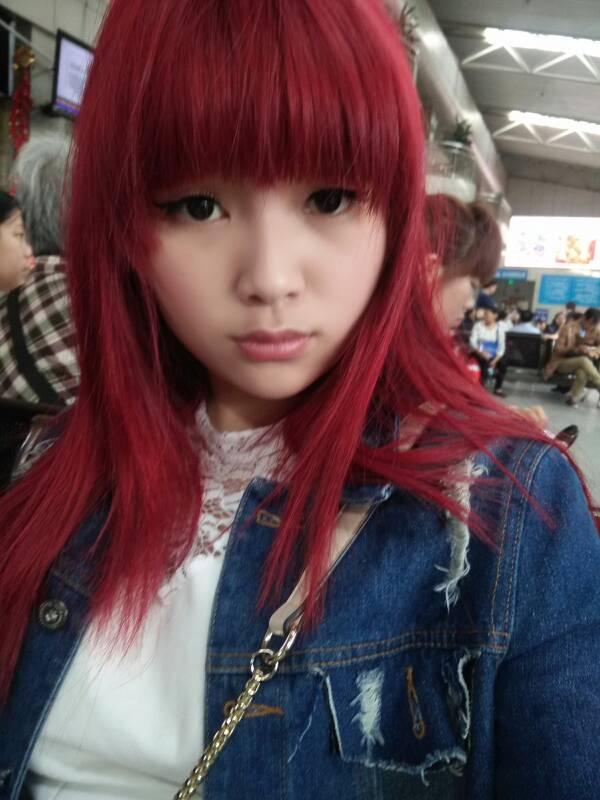 我适合红头发吗图片