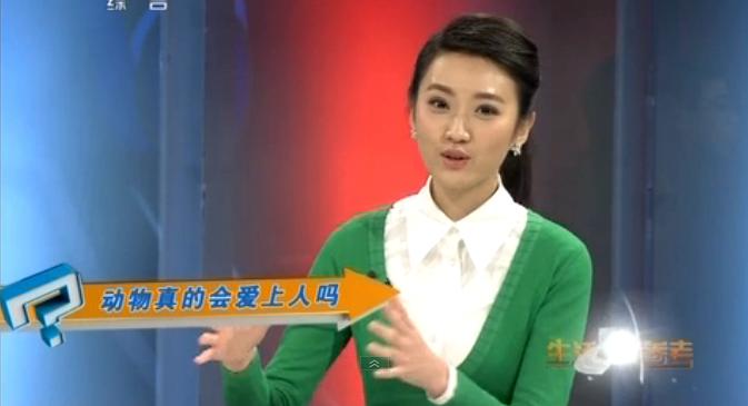 央视一套《生活早参考》的主持人黄婷婷谁有她详细 ...