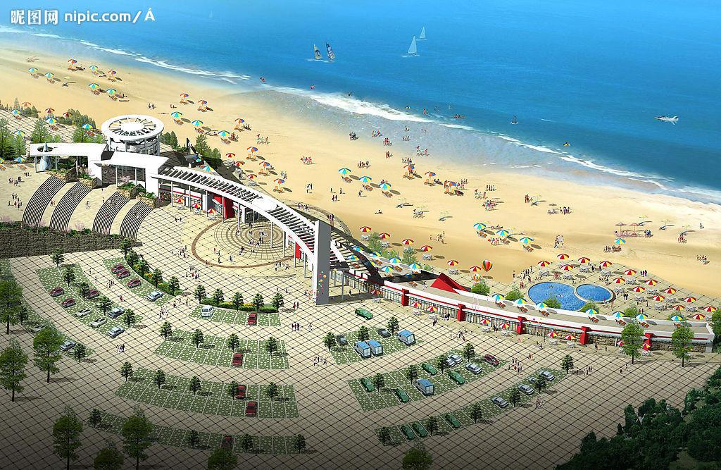 天津海滨浴场附近酒店