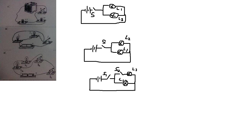 物理高手来,根据实物图画出电路图图片