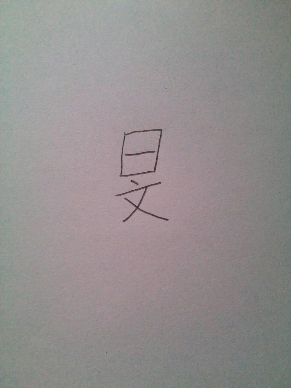 下面四个点是什么字_回答 哦再宽点念曰 你打ri 追问 不是,这个字是上面一个日字,下面一个