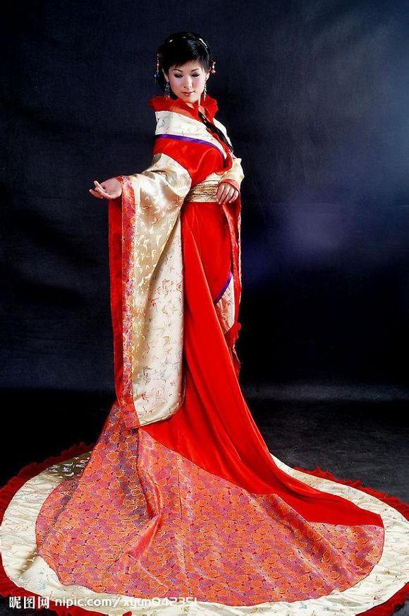 古代女子服装描写 百度知道