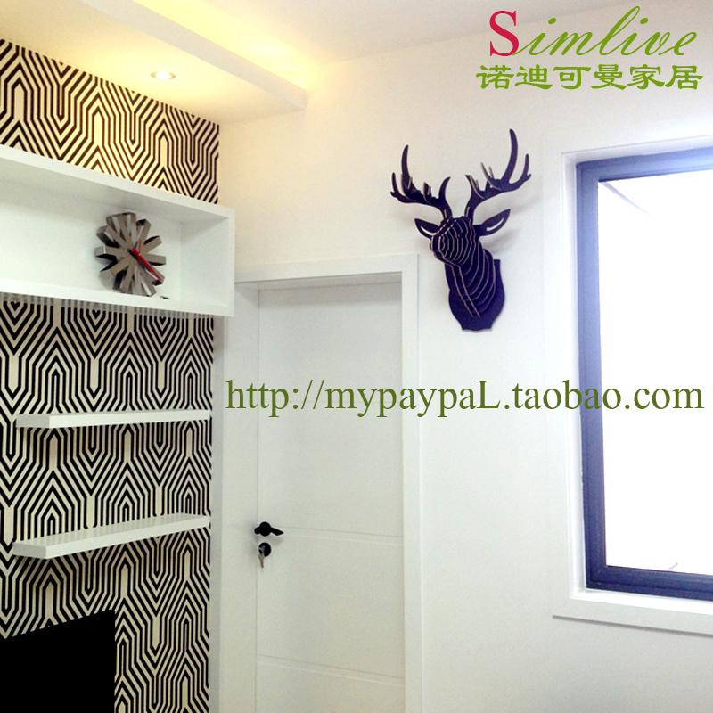 欧洲客厅装饰鹿头是什么意思?图片