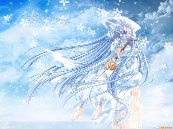 求动漫雪天使图片,可爱的,急求!