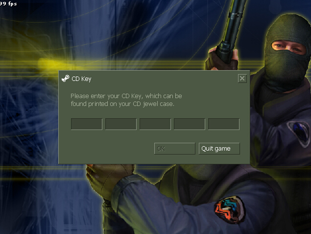 我的cs1.6 为什么不联网 就不能玩