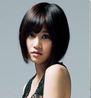 头发又多又短适合什么发型图片