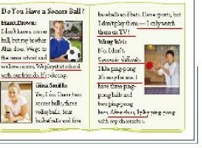 同问人教版七年级上英语第5课20页内容图片