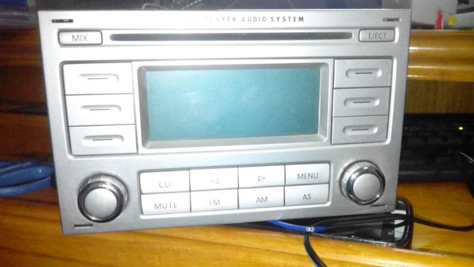 大众帕萨特领驭CD机怎么接线改家用