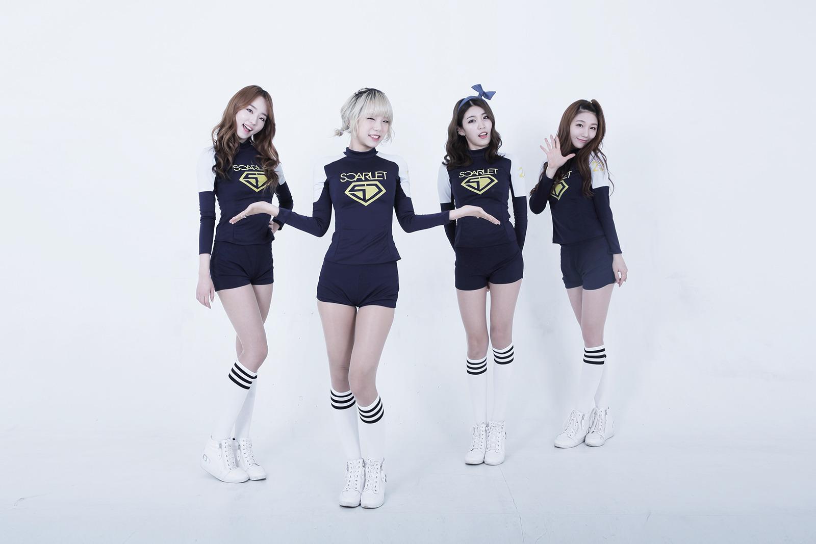 韩国4人女子团体:scarlet