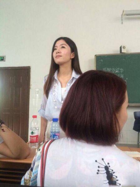 西南财经大学美女日语老师杜娇