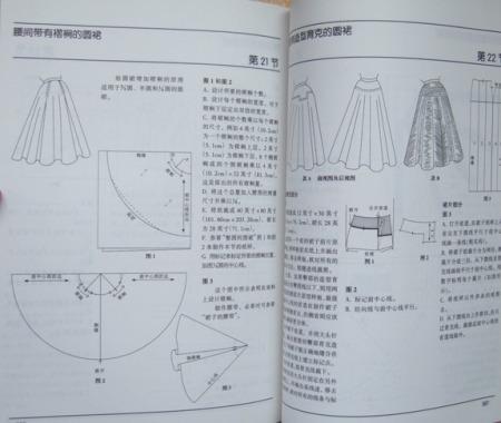 服装纸样设计的图书目录图片