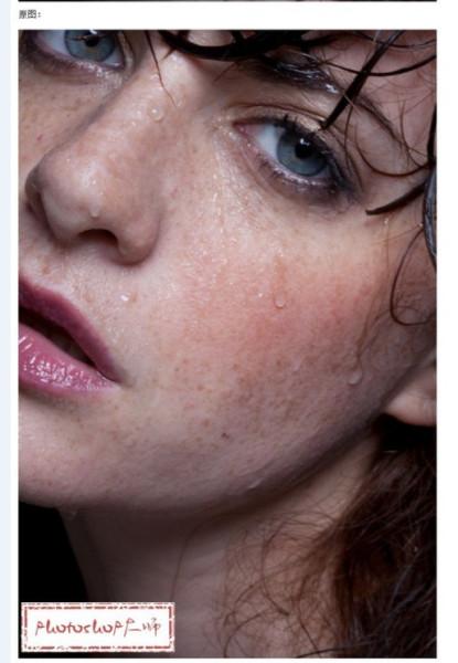 求长有痘痘的高清美女图片