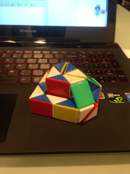 这种心形魔尺怎么折的?图片