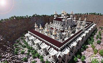 谁给我一个我的世界宫殿的建筑图纸图片