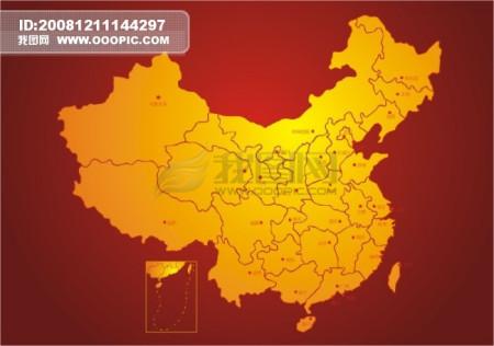 【求】【 高清晰 无字 有省级区划的 中国地图(图片)】图片
