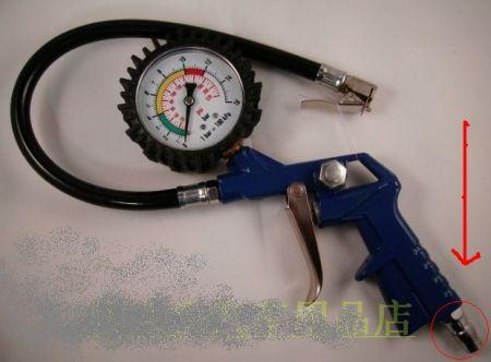 这种轮胎气压表图片