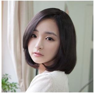 16 2011-04-06 我是女生,长头发,剪过头发后发现刘海又短又齐,很不图片