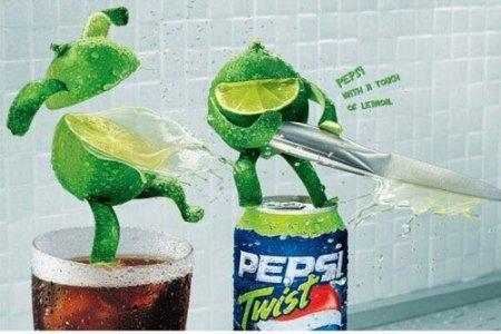 百事可乐创意广告图片