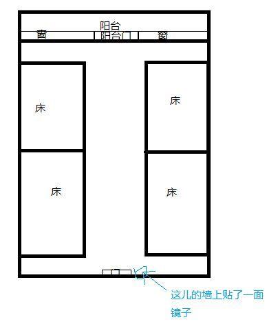 大学宿舍,我住的是a间,是四人间,小宿舍床全部是上床下桌图片