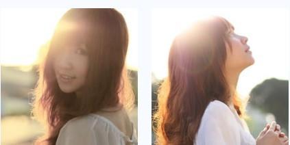 一左一右姐妹头像非主流(1)