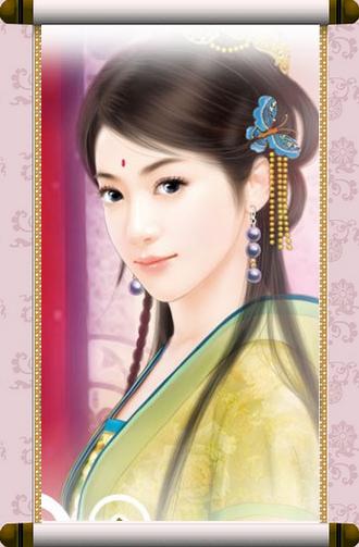 古代美女其实指的是中国画中的人物画