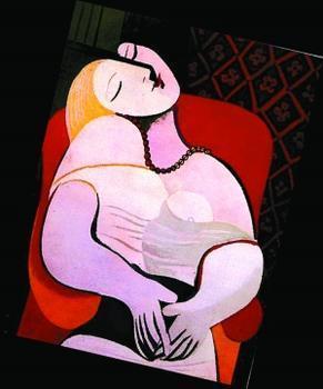 毕加索犬图片 毕加索作品高清大图 毕加索的画中画高清图片