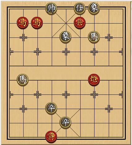 4399象棋残局65关如何过图片