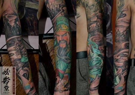 纹身关公有什么讲究图片