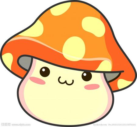 卡通大蘑菇