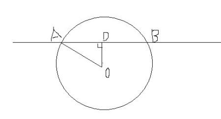 已知圆过点a(1,4)b(3,-2),且圆心到直线ab的距离为根号下10,求这个圆图片